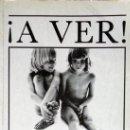 Libros: ¡A VER!, WILL MCBRIDE, HELGA FLEISCHHAUER-HARDT.. Lote 155921410