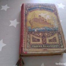 Livros: PAÍSES Y MARES DE JOAQUÍN PLA CARGOL 1941 TERCER MANUSCRITO. Lote 162357470