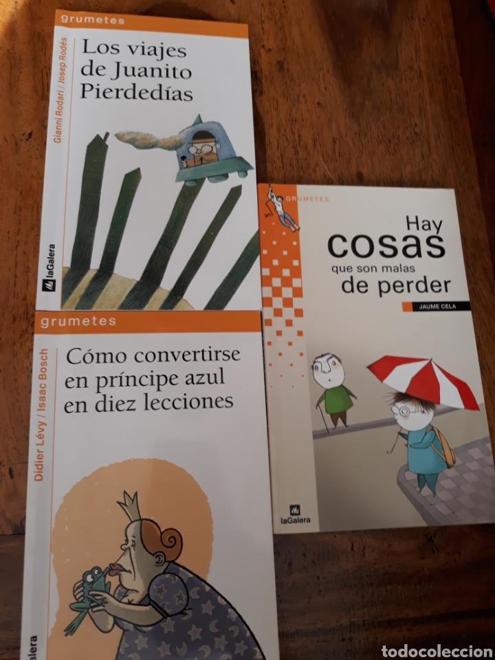 GRUMETES LA GALERA . LOTE DE 3 LIBROS (Libros Nuevos - Educación - Pedagogía)