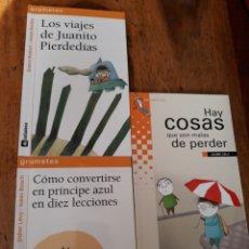 Livros: GRUMETES LA GALERA . LOTE DE 3 LIBROS. Lote 164603401
