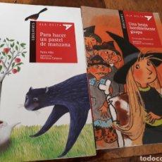 Libros: EL DELIBES .ALA DELTA. UNA BRUJA HORRIBLEMENTE GUAPA . PARA HACER UN PASTEL DE MANZANA.. Lote 164603674