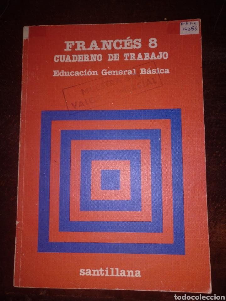 FRANCÉS 8 CUADERNO DE TRABAJO SANTILLANA SIN USO (Libros Nuevos - Educación - Pedagogía)