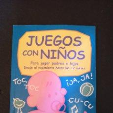 Libros: JUEGOS CON NIÑOS. Lote 173909238