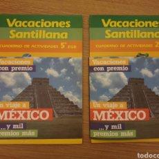 Libros: 2 LIBRO VACACIONES SANTILLANA. Lote 176523470