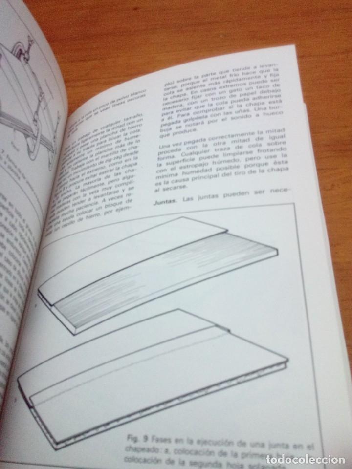 Libros: CARPINTERÍA Y EBANISTERÍA PRÁCTICAS. CHARLES H. HAYWARD. EST17B2 - Foto 6 - 181014140