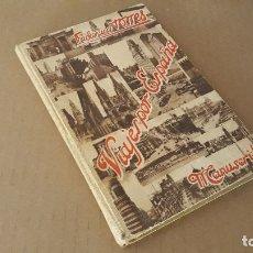 Libros: LIBRO 'VIAJES POR ESPAÑA'. MANUSCRITO.. Lote 182432537