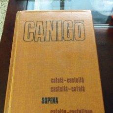 Libros: DICCIONARIO CATALÁN CASTELLANO. Lote 183166180
