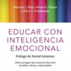 Libros: EDUCAR CON INTELIGENCIA EMOCIONAL DEBOLS!LLOCLAVE TAPA FLEXIBLE . Lote 183467538