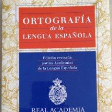 Libros: ORTOGRAFÍA ESPAÑOLA. Lote 183907426