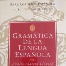 Libros: GRAMÁTICA DE LA LENGUA ESPAÑOLA. Lote 183907670