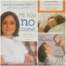 Libros: 3 LIBROS EDUCATIVOS PSICOLOGÍA INFANTIL. Lote 184326586