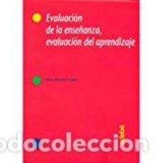 Libros: EVALUACION DE LA ENSEÑANZA, EVALUACION DEL APRENDIZAJE - BARBERÀ GREGORI, ELENA. Lote 184426848