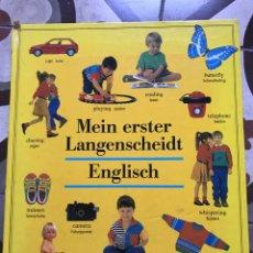 Libros: LIBRO PARA APRENDER ALEMÁN E INGLÉS MEIN ERSTEN LANGRNSCHEIDT ENGLISH DEUTSCH. Lote 190058830