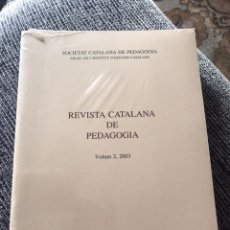 Libros: REVISTA CATALANA DE PEDAGOGIA VOL.2. Lote 191971682