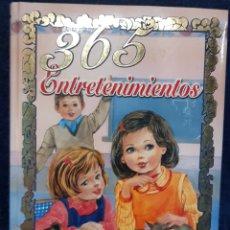 Livros: LIBRO COLECCIÓN 365 ORO 365 ENTRETENIMIENTOS. Lote 193317822