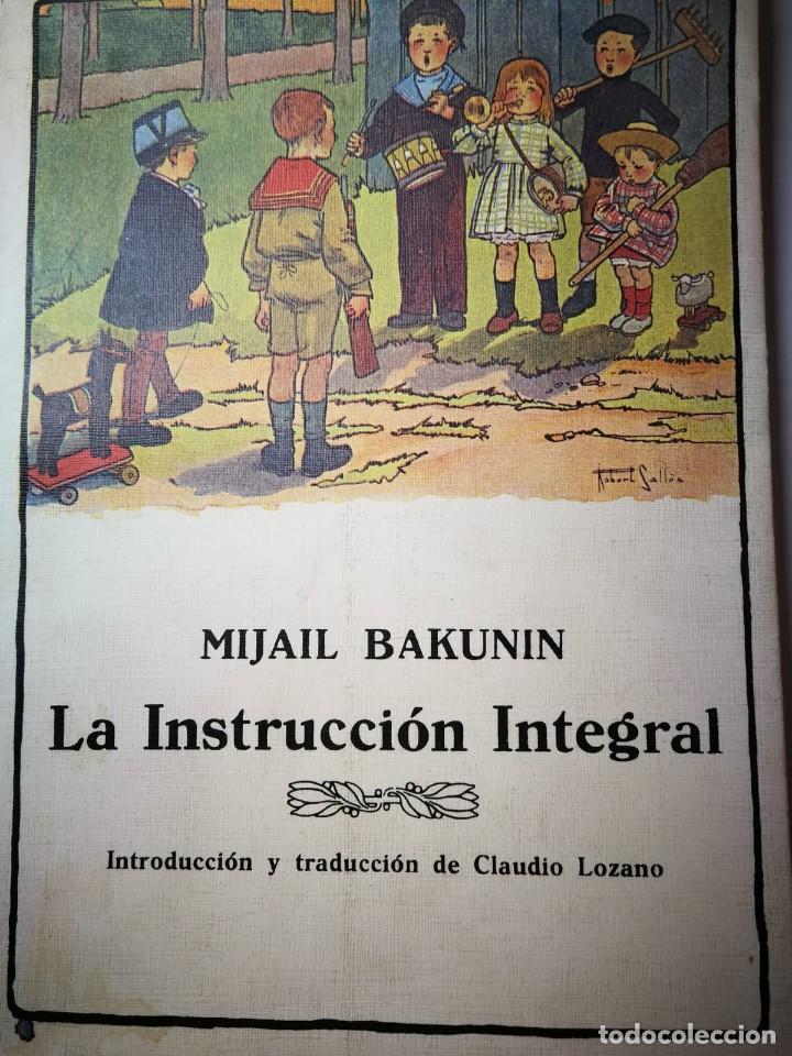 LA INSTRUCCIÓN INTEGRAL. MIJAIL BAKUNIN (Libros Nuevos - Educación - Pedagogía)