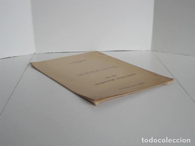 Libros: PEDRO LAÍN ENTRALGO. GREGORIO MARAÑÓN. SEPARATA DE BOLETÍN DE REAL ACADEMIA,1960. DEDICADO POR AUTOR - Foto 4 - 199355055