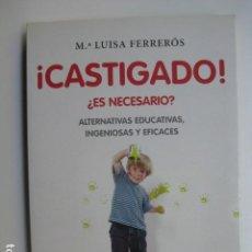 Libros: LIBRO CASTIGADO ES NECESARIO - ED. PLANETA - Mª LUISA FERREROS NUEVO. Lote 199417788
