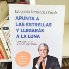Libros: APUNTA A LAS ESTRELLAS Y LLEGARAS A LA LUNA 2014.EL FUNDADOR DE TELEPIZZA.. Lote 200274801