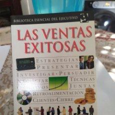 Libros: LAS VENTAS EXITOSA EDITORIAL GRIJALBO (2002).. Lote 200284467