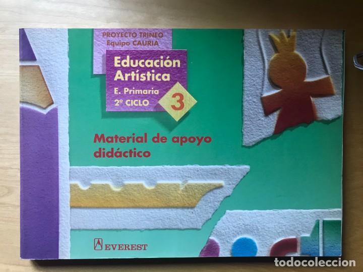 EDUCACIÓN ARTÍSTICA - E. PRIMARIA 2º CICLO 4, MATERIAL DE APOYO DIDÁCTICO - ED. EVEREST (Libros Nuevos - Educación - Pedagogía)