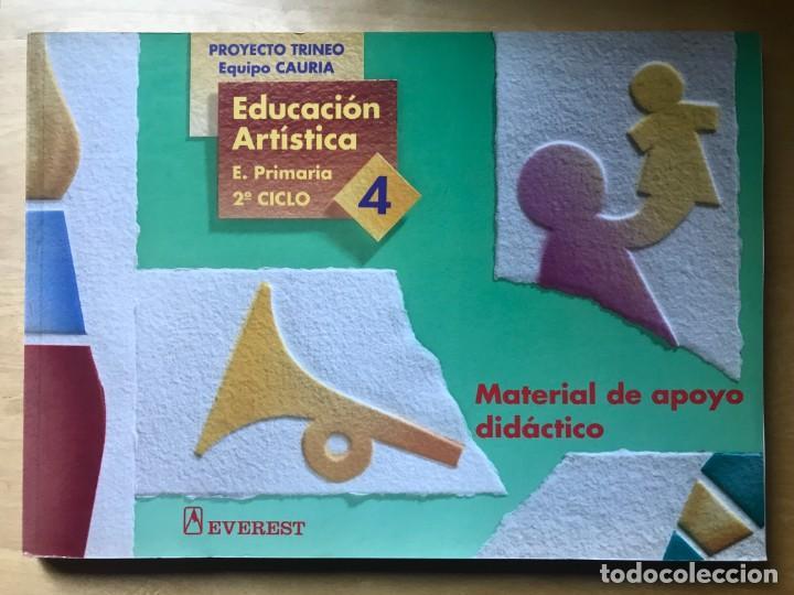 EDUCACIÓN ARTÍSTICA - E. PRIMARIA 2º CICLO 3, MATERIAL DE APOYO DIDÁCTICO - ED. EVEREST (Libros Nuevos - Educación - Pedagogía)