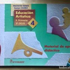 Libros: EDUCACIÓN ARTÍSTICA - E. PRIMARIA 2º CICLO 3, MATERIAL DE APOYO DIDÁCTICO - ED. EVEREST. Lote 203197903
