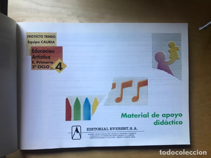 Libros: Educación Artística - E. Primaria 2º ciclo 3, Material de apoyo didáctico - Ed. Everest - Foto 3 - 203197903