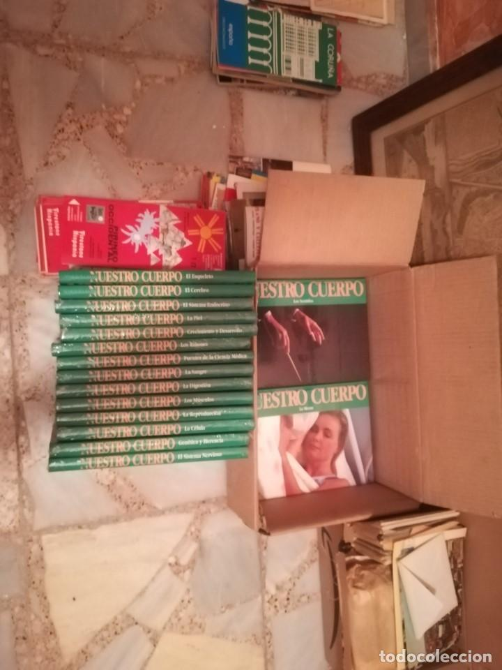 MARAVILLAS DE NUESTRO CUERPO. COMPLETA Y NUEVA, EN SU PLÁSTICO ORIGINAL. CLUB INTERNACIONAL DEL LIBR (Libros Nuevos - Educación - Pedagogía)