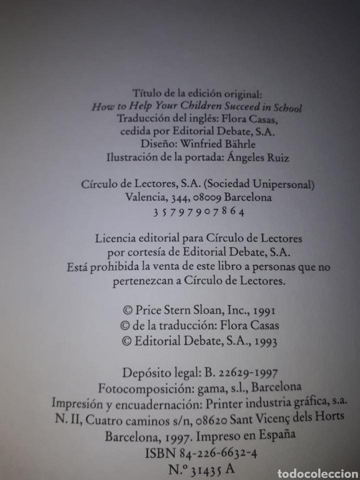 Libros: Libro. REYNOLD BEAN.COMO AYUDAR A SUS HIJOS EN EL COLEGIO.NUEVO. - Foto 3 - 207466115