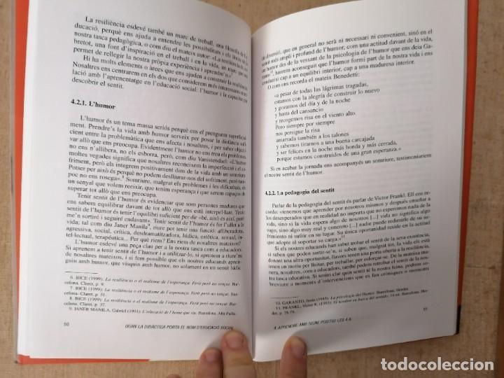 Libros: QUAN LA DIDÀCTICA PORTA EL NOM DEDUCACIÓ SOCIAL - FORÉS I VALLVÉ - CLARET - 2010 - Foto 8 - 213202195