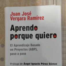 Libros: APRENDO PORQUE QUIERO. VERGARA. Lote 215913250