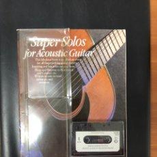 Livros: METODO GUITARRA ACUSTICA. DE USA. CON TABLATURA.. Lote 220736047