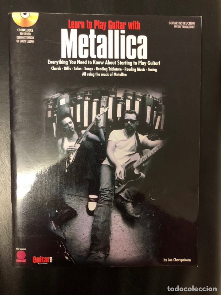 METODO GUITARRA METALLICA. CON TABLATURA Y CD. NUEVO. OPORTUNIDAD (Libros Nuevos - Educación - Pedagogía)