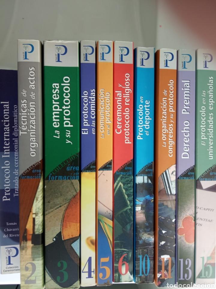DIEZ LIBROS DE PROTOCOLO (Libros Nuevos - Educación - Pedagogía)