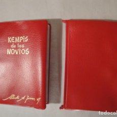 Libros: KEMPIS DE LOS NOVIOS. BIBLIOTECA LOTOS. JESUITAS EXTREMO ORIENTE (PALENCIA). AUTOR. ALBERTO A.TORRES. Lote 222258516