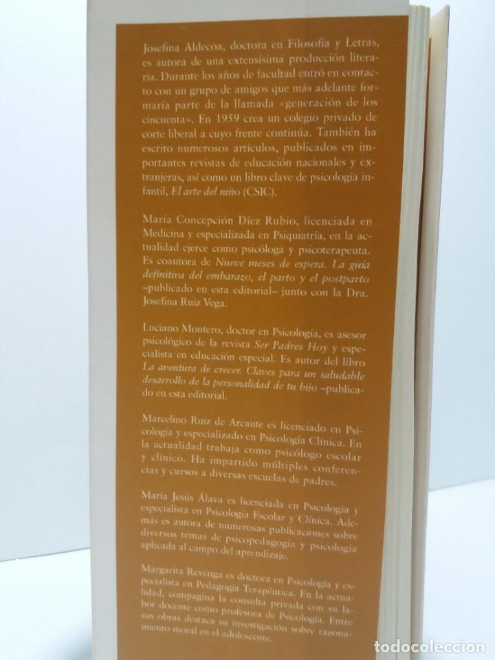 Libros: ESPECTACULAR LIBRO COMO EDUCAR A NUESTROS HIJOS EN SU INFANCIA Y ADOLESCENCIA NUEVO DE LIBRERIA - Foto 5 - 223875170