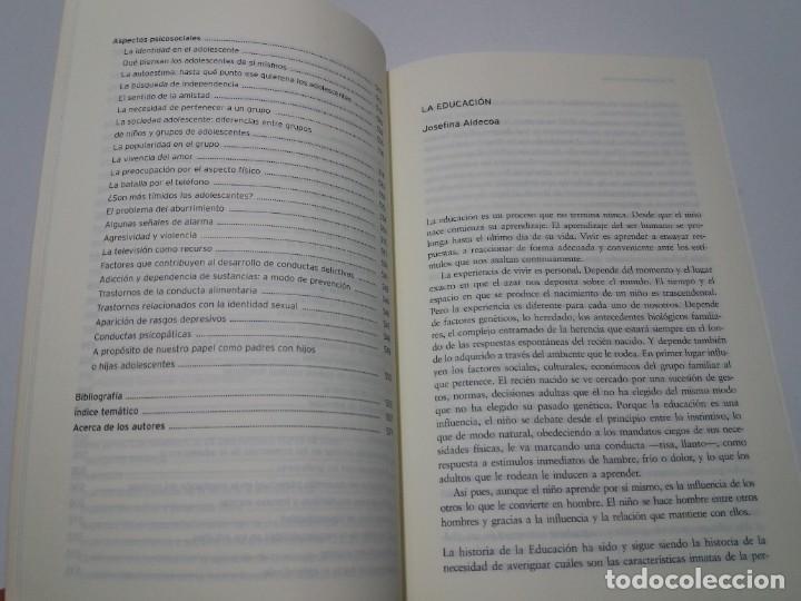 Libros: ESPECTACULAR LIBRO COMO EDUCAR A NUESTROS HIJOS EN SU INFANCIA Y ADOLESCENCIA NUEVO DE LIBRERIA - Foto 11 - 223875170