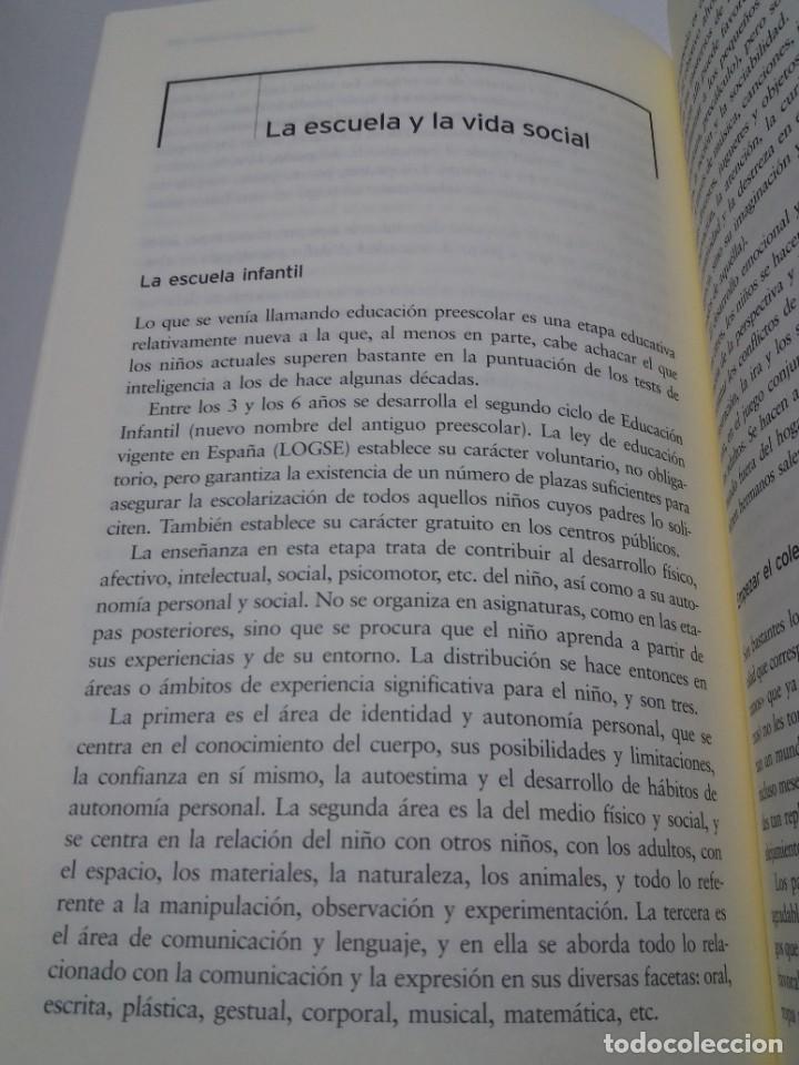 Libros: ESPECTACULAR LIBRO COMO EDUCAR A NUESTROS HIJOS EN SU INFANCIA Y ADOLESCENCIA NUEVO DE LIBRERIA - Foto 15 - 223875170