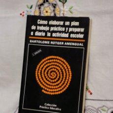 Libros: LIBRO MANUAL DE EDUCACIÓN. Lote 230362945