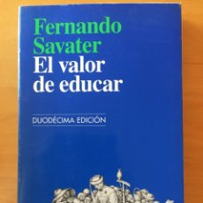 Libros: ELVALOR DE EDUCAR. Lote 232681690