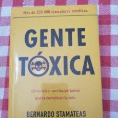 Libros: GENTE TOXICA. Lote 233035445