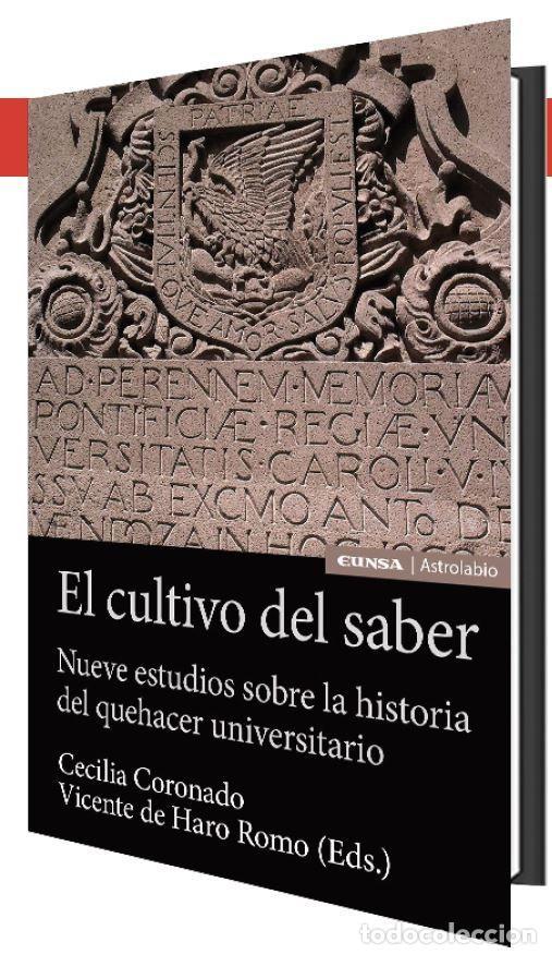 EL CULTIVO DEL SABER (C. CORONADO / V. DE HARO) EUNSA 2021 (Libros Nuevos - Educación - Pedagogía)