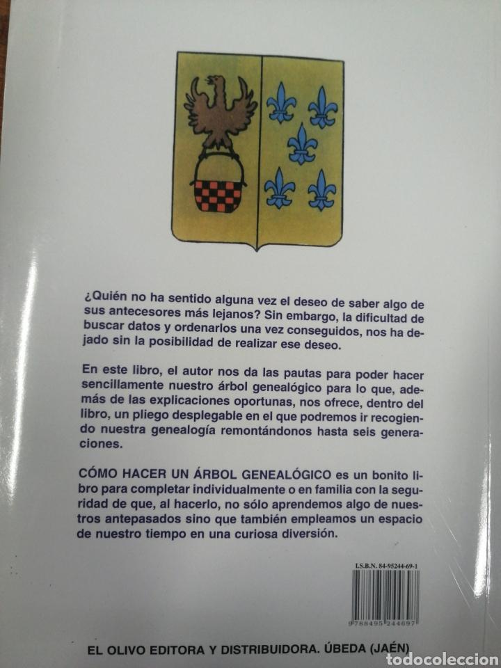 Libros: Cómo hacer un árbol genealógico. Hermenegildo de la Campa - Foto 2 - 249533120