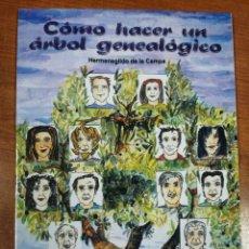 Libros: CÓMO HACER UN ÁRBOL GENEALÓGICO. HERMENEGILDO DE LA CAMPA. Lote 249533120