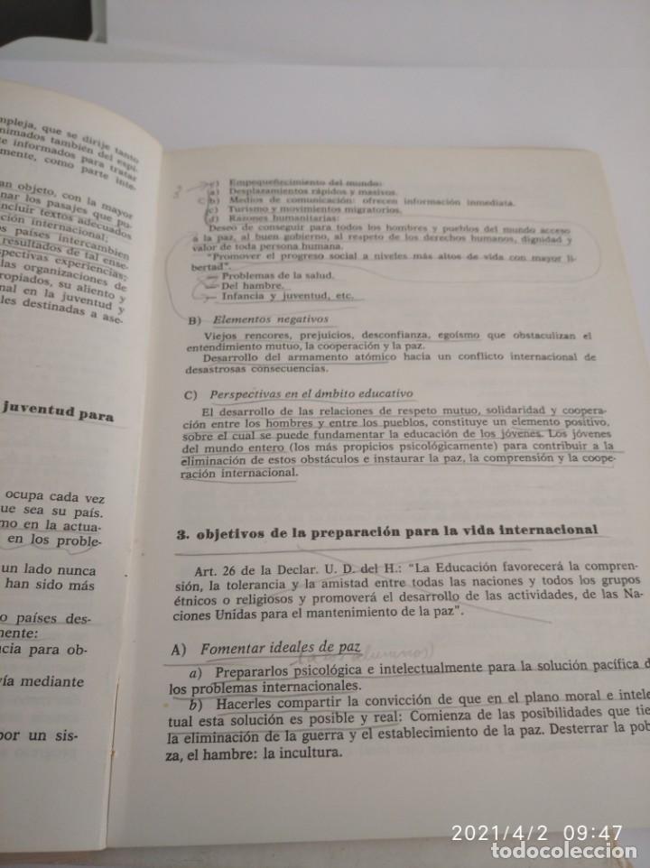 Libros: Educación político-social y cívica para Escuelas de Magisterio Primer y segundo curso. - Foto 6 - 252418370