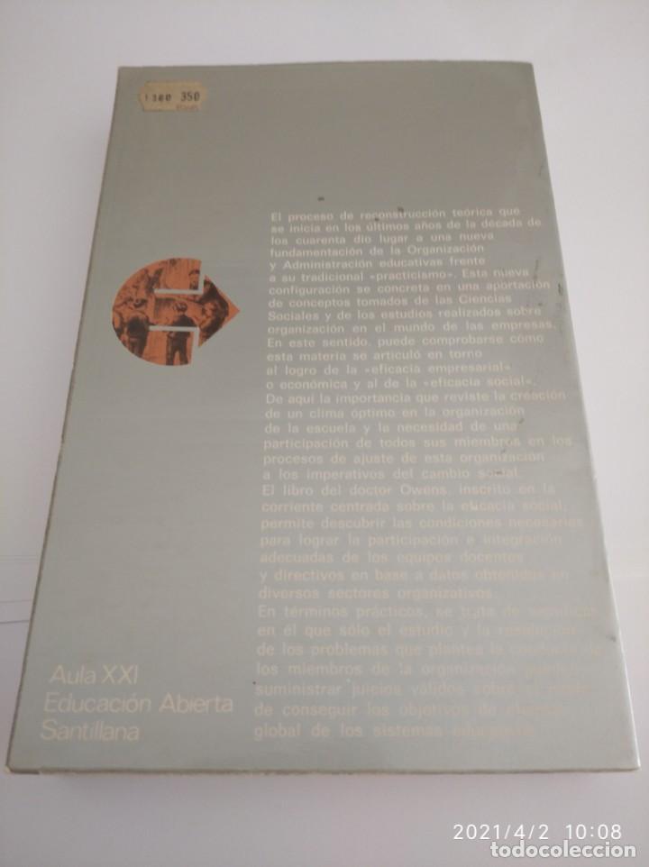 Libros: La escuela como organización: Tipos de conducta y práctica organizativa. - Foto 2 - 252420160