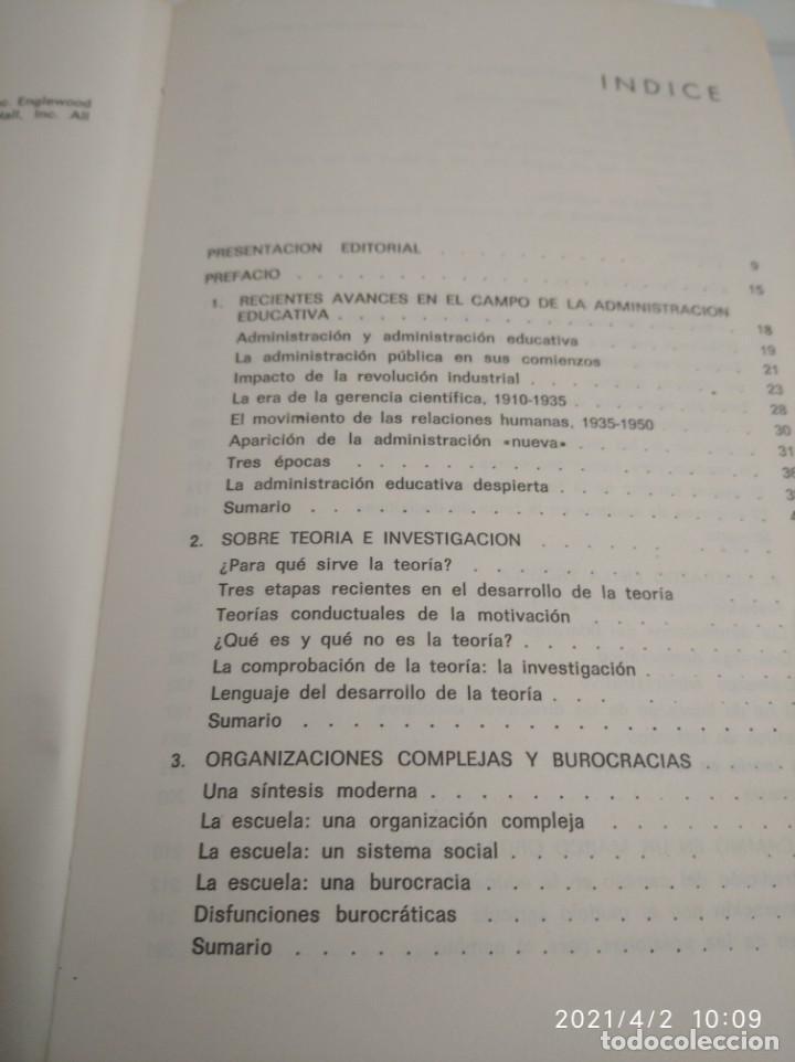 Libros: La escuela como organización: Tipos de conducta y práctica organizativa. - Foto 5 - 252420160