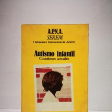 Libros: AUTISMO INFANTIL A.P.N.A. Lote 254641695