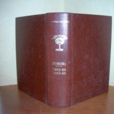 Libros: FLEXIONES VERBALES Y LEXICÓN DEL EUSKERA DIALECTAL DE EIBAR / TORIBIO ETXEBARRIA / EUSKERA - ESPAÑOL. Lote 260749300